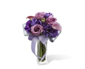 Shades of Purple Bouquet in Smyrna GA, Floral Creations Florist
