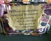 SOMEONE SPECIAL TAPESTRY THROW in Pittsburgh, Pennsylvania, Frankstown Gardens