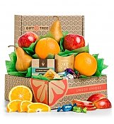 Harvest Fruit and Snacks Sampler - by GiftTree Flowers
