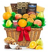 Five Star Fruit Basket - by GiftTree Flowers