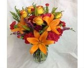 Orange Fiesta  in Smyrna GA, Floral Creations Florist