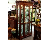 Amish Curio Cabinet in Grand Rapids MN, Shaw Florists