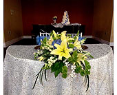 Sweetheart Table at Safety Harbor Spa in Silvermill Plaza, Florida, Buds, Blooms & Beyond