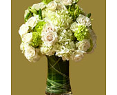 Tulsa Flowers - White Linen - Mary Murray's Flowers