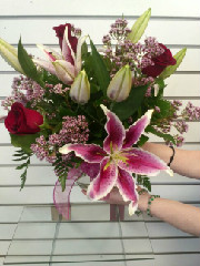 Roses and Lilies in Anchorage, Alaska, A Special Touch