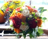 Autumn Splendor in Asheville NC, Kaylynne's Briar Patch Florist, LLC