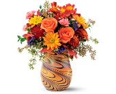 Teleflora's Fall Opalescence Bouquet in Edmonton AB, Petals For Less Ltd.