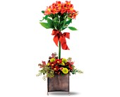 Teleflora's Rustic Garden Bouquet in Orange CA, LaBelle Orange Blossom Florist