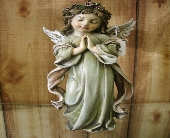 Praying Angel Girl Figurine in Ionia MI, Sid's Flower Shop