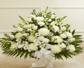 Traditional White Sympathy Spray in Arizona,, Arizona, Fresh Bloomers Flowers & Gifts, Inc