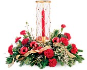 Teleflora's Jeweled Hurricane Bouquet in New Britain CT, Weber's Nursery & Florist, Inc.