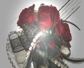 RED SWEETHEART ROSE CORSAGE in Flushing, Michigan, Flushing Florist & Greenhouse