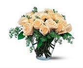 Cream Roses in Smyrna GA, Floral Creations Florist