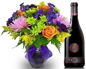 Moon Crush Duo Flowers & Wine by Nature Nook® in Cleves OH, Nature Nook Florist & Wine Shop