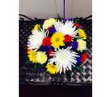 Bright And Colorful Centerpiec in Greensboro NC, Send Your Love Florist & Gifts
