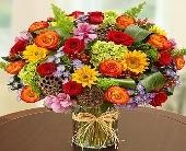 Austin Flowers - Garden of Grandeur for Fall - Heart & Home Flowers