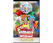 Birthday Box with Candy and Balloon in Ammon ID, Petal Passion