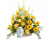 Rays of Sunshine Basket Surround in Casper, Wyoming, Keefe's Flowers