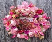 Myrtle Cross Wreath in Franklinton, Louisiana, Margie's Florist