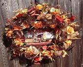 Trucker's Prayer Wreath in Franklinton, Louisiana, Margie's Florist