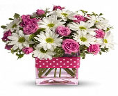 Polka Dots & Posies - Think Pink Campaign in Norwalk CT, Bruce's Flowers & Greenhouses