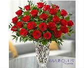 El Cajon Flowers - Marquis by Waterford® Premium Red Roses - Conroy's Flowers