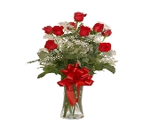 Fernandina Flowers - Rose Red 1 Doz - Kuhn Flowers