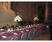 Head Table at Franklin Institute in Blue Bell, Pennsylvania, Country Flower Shoppe
