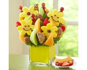 Smiles All Around in Mount Morris MI, June's Floral Company & Fruit Bouquets