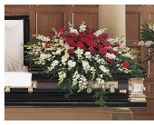 Cherished Moments Casket Spray in Jacksonville, Florida, Kuhn Flowers