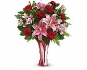 Teleflora's Rose Nouveau Bouquet in Watertown NY, Sherwood Florist