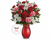Teleflora's Sweet Embrace Bouquet in New Rochelle NY, Alborada Florist
