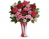 Teleflora's Swirls Of Love Bouquet in Watertown NY, Sherwood Florist