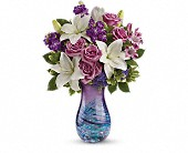 Teleflora's Artful Elegance Bouquet in Waterbury CT, The Orchid Florist
