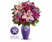 Teleflora's Beautiful Butterfly Bouquet in Ammon ID, Petal Passion