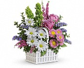 Teleflora's White Picket Bouquet in New Britain CT, Weber's Nursery & Florist, Inc.