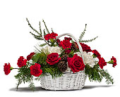 Holiday Basket Bouquet, picture