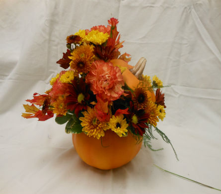 AUTUMN HARVEST CENTERPIECE in Hagerstown MD, Chas. A. Gibney Florist & Greenhouse