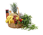 Fabulous Fruit and More Basket in Prospect KY, Country Garden Florist
