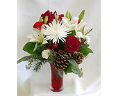 Bear Creek Holiday Vase in Redmond WA, Bear Creek Florist