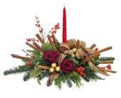 Cinnamon Centerpiece in Moline IL, K'nees Florists