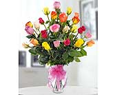 Classic Colorful Roses by Hoogasian Flowers in San Francisco CA, Hoogasian Flowers
