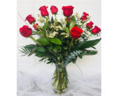 12 Roses in Redwood City CA, Redwood City Florist