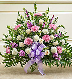 Traditional Lavander & White in East Amherst NY, American Beauty Florists