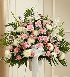 Traditional Pink & White in East Amherst NY, American Beauty Florists