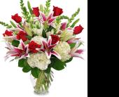 Sarasota Flowers - LOVE'S PASSION - Oneco Florist