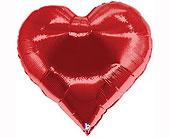 Seattle Flowers - Giant Red Heart Foil Balloon - City Flowers, Inc.