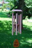 For the Girls� 25-inch Pink Wind Chimes in Louisville KY, Belmar Flower Shop