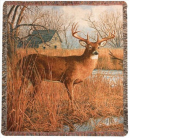 His Side of the River Tapestry Throw in Hollidaysburg, Pennsylvania, Warner's Florist Gifts & Greenhouse