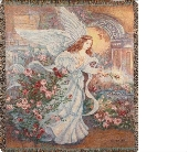 Angel of Love Tapestry Throw in Hollidaysburg, Pennsylvania, Warner's Florist Gifts & Greenhouse